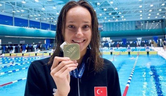 Milli yüzücüden tarihi başarı