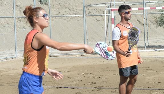 Plaj Tenisi heyecanı Gönyeli'de yaşandı
