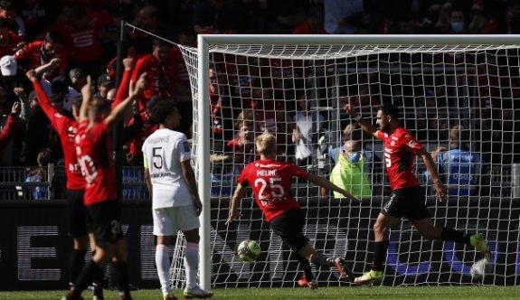 Rennes, PSG'yi devirdi