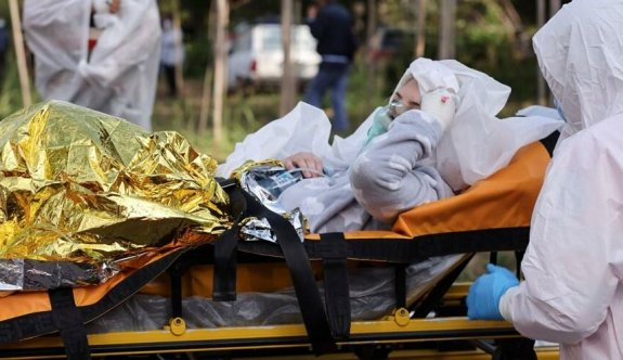 Romanya'da pandemi hastanesinde yangın