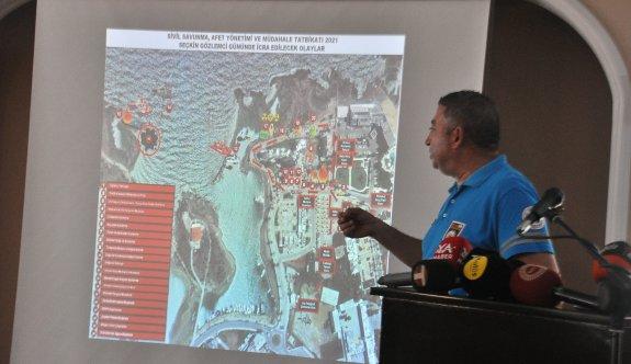 Sivil Savunma Afet Yönetimi ve Müdahale Tatbikatı 6-7 Ekim'de yapılacak