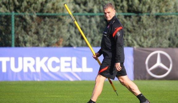 Türkiye Milli takımı Stefan Kuntz ile ilk idmanına çıktı