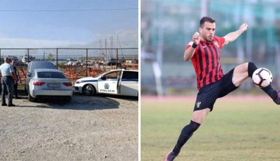 Yunan futbolcu aracında ölü bulundu