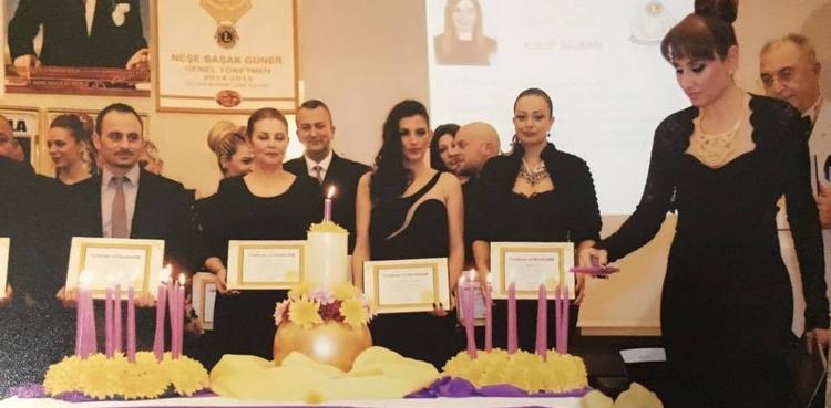 MAĞUSA MESARYA LİONS KULÜBÜ'nün Kuruluş Belge Töreni düzenlendi