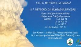 Meteroloji Dairesi fotoğraf yarışması düzenliyor