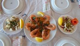 Sibya Salatası ve Tereyağlı Karides