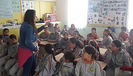 """Ağırdağ İlkokulu'nda """"Kayıp Hazine"""" tanıtıldı"""