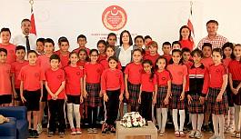 Haspolat İlkokulu, Siber'i ziyaret etti