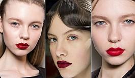 2018 Kış makyaj trendleri