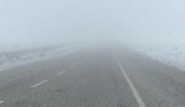 Girne - Değirmenlik Anayolu'nda yoğun sise dikkat