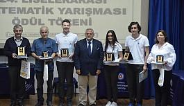 Liselerarası Matematik Yarışması'nı 19 Mayıs Türk Maarif Koleji kazandı