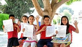 Orta dereceli okullarda karne heyecanı