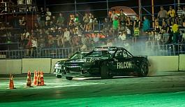 Driftte gece yarışının galibi Yücebaş