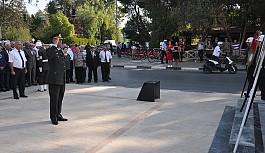 Gaziler törenle anıldı