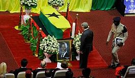 Kofi Annan son yolculuğuna uğurlandı
