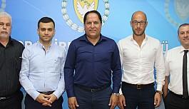 Türkiye Masa Tenisi Federasyonu heyeti, Değirmencioğlu'nu ziyaret etti