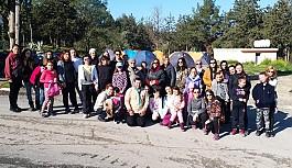 Ana-kız kampına aileler yoğun ilgi gösterdi