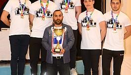 DAÜ satranç takımı Türkiye şampiyonu