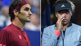 Federer ve Osaka İtalya Açık'tan çekildi