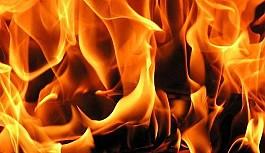 Lefkoşa sanayi bölgesinde yangın