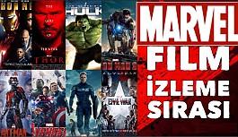 Marvel evreni filmlerinin izleme sırası