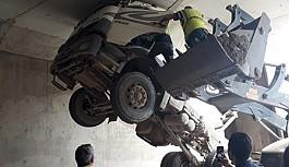Unutkan sürücü ağır yaralandı