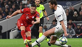 Bayern Münih Tottenham'ı dağıttı