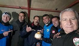 Malek'in kutlaması statta