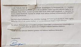 Münhale başvuran öğretmenler işten atıldı