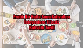 Pratik Bir Hafta Sonu Kahvaltısı İsteyenlere 11 Leziz Kahvaltı Tarifi