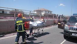 Lefkoşa'da bir saat arayla iki ölümlü kaza