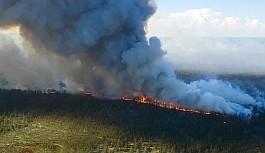 Sibirya alev alev yanıyor