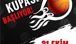 Basketbolda özlem Açılış Kupası ile bitecek