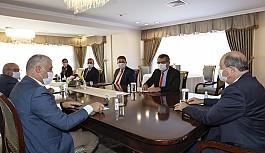 Cumhurbaşkanı Tatar, siyasi parti başkan ve vekilleriyle görüştü