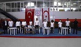 Cimnastik hakemleri ilk kez görevde