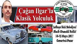 Lefkoşa Türk Belediyesi Klasik Otomobil Rallisi