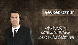 Aydın Duruşu Ve Yazarına Sahip Çıkmak 2020-21 Ali Nesim Ödülleri