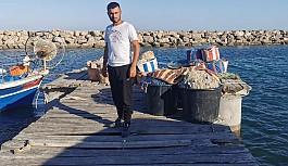 Dipkarpaz balıkçı barınağı dökülüyor