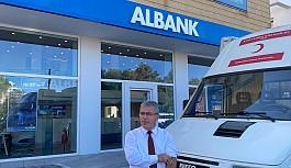 ALBANK personeli kan bağışında bulundu!