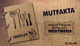 Beğendi Yatağında Milföy'e Sarılı Kuzu Pirzola