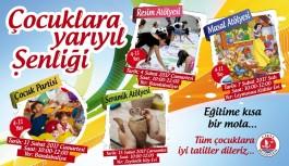 Girne Belediyesi Çocuk, Genç ve Yetişkinlere Yarıyıl Şenliği Düzenleyecek