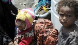 YEMEN'DE, 2 YILDA BİN 400 ÇOCUK HAYATINI KAYBETTİ