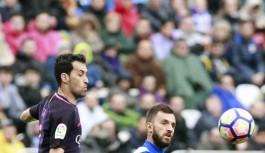 Barcelona'ya ligde şok darbe