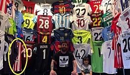 Messi'nin forma koleksiyonu başka