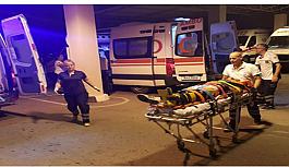 Tatlısu'da kaza, 5 yaralı