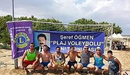 10.Şeref Öğmen Plaj Voleybol Turnuvası...
