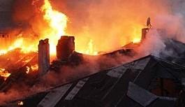 Çin'de bina yangını: 11 ölü