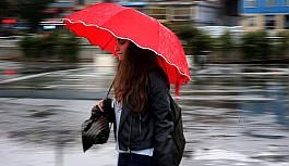 Yağışlı hava yarın da sürecek