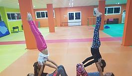 Çocuk fitnessçilerimiz, Hırvatistan'da...