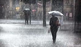 Pazartesi yer yer sağanak yağmur bekleniyor